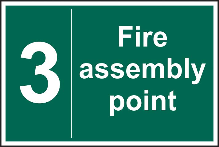 Fire Assembly Point 3