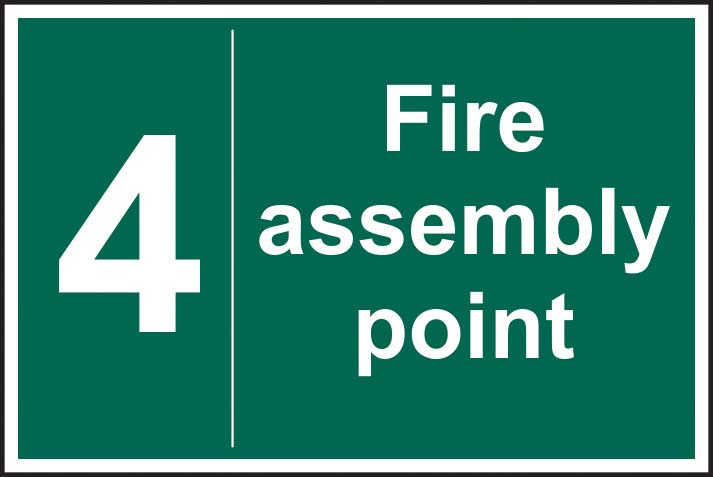 Fire Assembly Point 4