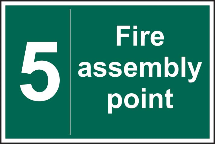 Fire Assembly Point 5
