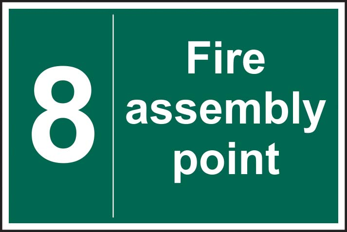Fire Assembly Point 8