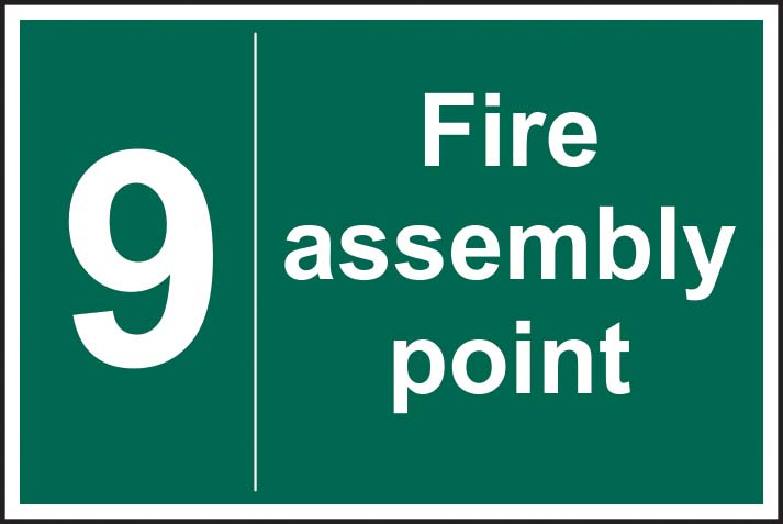 Fire Assembly Point 9