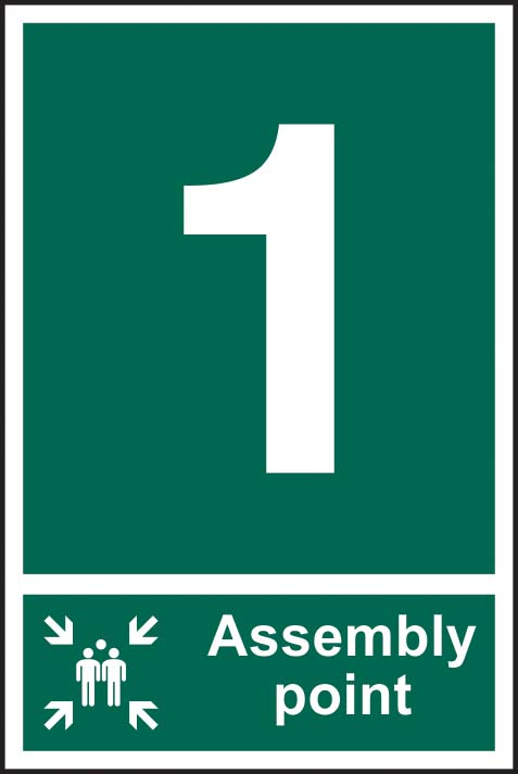 Fire Assembly Point 1