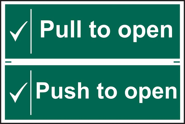 Pull / Push To Open