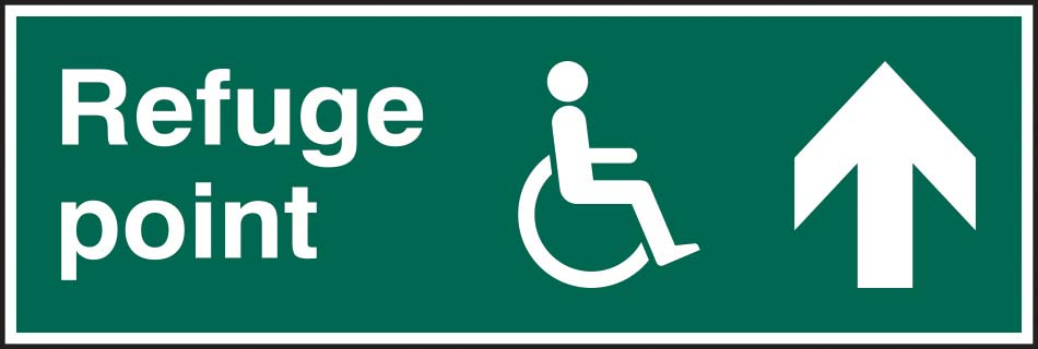 Refuge Point Arrow Up