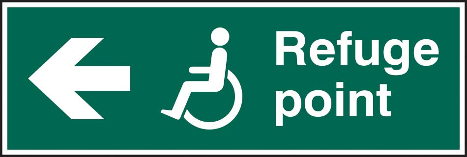 Refuge Point Arrow Left